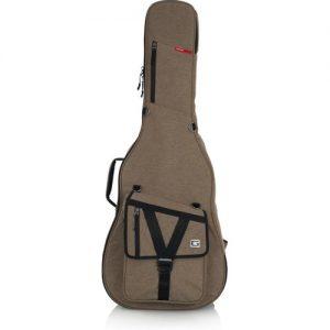 Gator GT-ACOUSTIC-TAN Transit Series Acoustic Guitar Bag Tan at Gear 4 Music Image