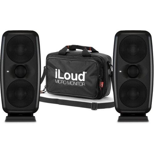 IK Multimedia iLoud MTM Monitors with Micro Monitor Travel Bag at Gear 4 Music Image
