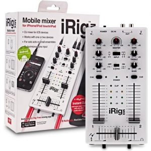 IK Multimedia iRig MIX Mobile Mixer for iPhone iPad Android at Gear 4 Music Image