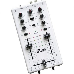 IK Multimedia iRig MIX Mobile Mixer for iPhone iPod Touch and iPad - Nearly New at Gear 4 Music Image