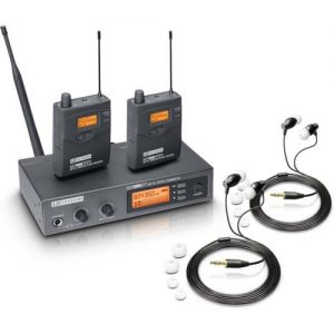LD Systems MEI1000G2 Double Wireless In Ear Monitoring System at Gear 4 Music Image