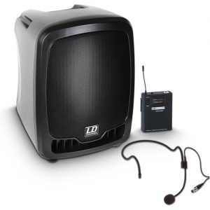 LD Systems Roadboy 65 Portable PA Speaker with Headset Microphone at Gear 4 Music Image