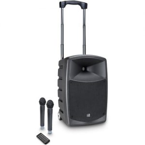 LD Systems Roadbuddy 10 HHD2 Portable PA Speaker with Microphones at Gear 4 Music Image
