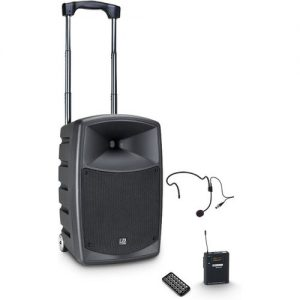 LD Systems Roadbuddy 10 HS Portable PA Speaker with Headset at Gear 4 Music Image
