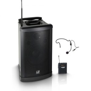 LD Systems Roadman 102 HS Portable PA Speaker with Headset Microphone at Gear 4 Music Image