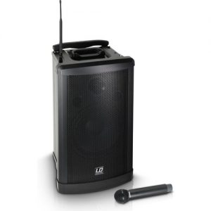 LD Systems Roadman 102 Portable PA Speaker with Handheld Microphone at Gear 4 Music Image