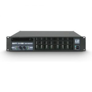LD Systems SP1K8 2 Channel Power Amplifier at Gear 4 Music Image