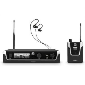 LD Systems U508 IEM HP In Ear Monitoring System with Earphones at Gear 4 Music Image