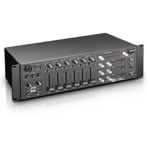 LD Systems ZONE624 4 Zone Rack Mixer at Gear 4 Music Image