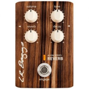 L.R. Baggs Align Series Reverb Pedal at Gear 4 Music Image