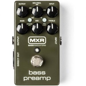 MXR Bass Preamp Pedal at Gear 4 Music Image