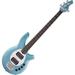 Music Man Bongo 4 HH Bass EB Aqua Sparkle at Gear 4 Music Image
