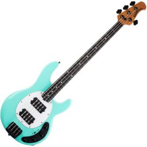 Music Man StingRay Special Bass HH EB Cruz Teal at Gear 4 Music Image