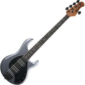 Music Man StingRay5 Special Bass HH EB Charcoal Sparkle at Gear 4 Music Image