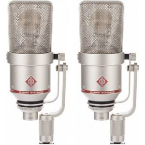 Neumann TLM 170 R Switchable Studio Microphone Stereo Set Nickel at Gear 4 Music Image