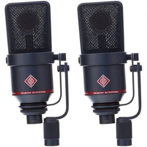 Neumann TLM 170 R mt Switchable Studio Microphone Stereo Set Black at Gear 4 Music Image