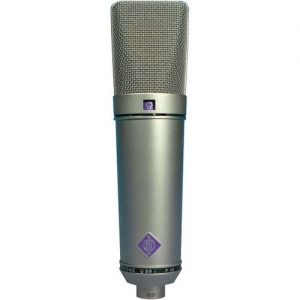Neumann U 89 i Studio Microphone Nickel at Gear 4 Music Image