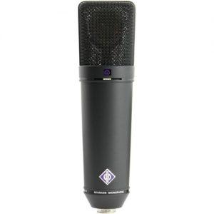 Neumann U 89 i mt Studio Microphone Black at Gear 4 Music Image