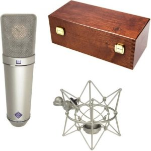 Neumann U87 AI Studio Microphone Set Nickel at Gear 4 Music Image