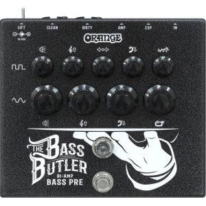 Orange Bass Butler Bi-Amp Preamp Pedal at Gear 4 Music Image