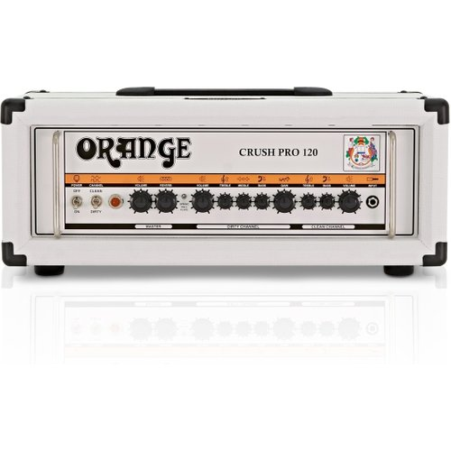 Orange Crush Pro CR120 Head White at Gear 4 Music Image