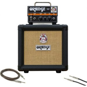 Orange Micro Dark Guitar Amp Pack with Cables at Gear 4 Music Image