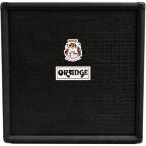 Orange OBC410 4x10 Bass Speaker Cab Black at Gear 4 Music Image