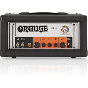 Orange OR15 Head Black at Gear 4 Music Image