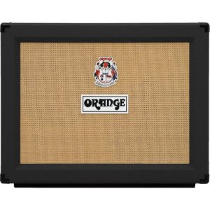 Orange PPC212OB 2x12 Open Back Speaker Cab Black at Gear 4 Music Image