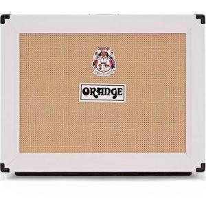Orange PPC212OB 2x12 Open Back Speaker Cab White at Gear 4 Music Image