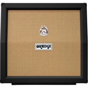 Orange PPC412-AD Angled 4x12 Cabinet Black at Gear 4 Music Image
