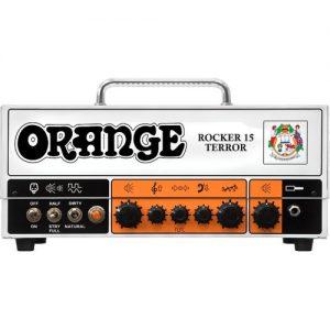 Orange Rocker 15 Terror Head at Gear 4 Music Image