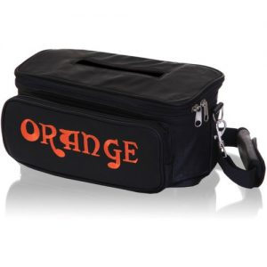 Orange Tiny Terror Leather Gig Bag at Gear 4 Music Image