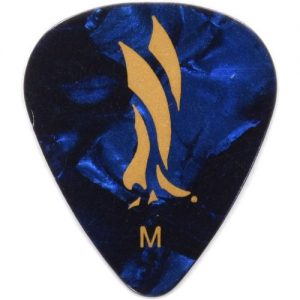 PRS Celluloid Blue Pearloid Medium Picks Pack of 12 at Gear 4 Music Image