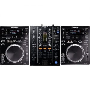 Pioneer CDJ-350 and DJM-450 Bundle at Gear 4 Music Image
