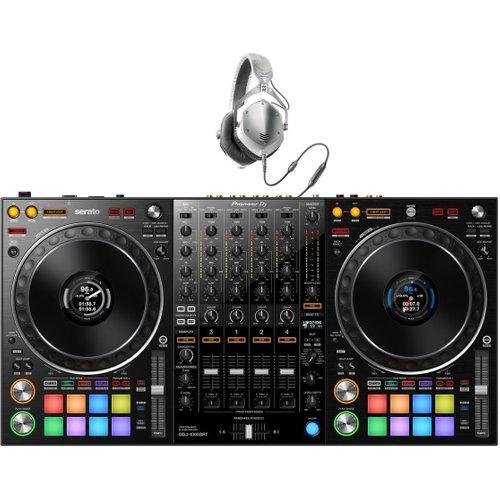 Pioneer DDJ-1000SRT 4-Channel Serato DJ Controller w/V-Moda M-100s at Gear 4 Music Image