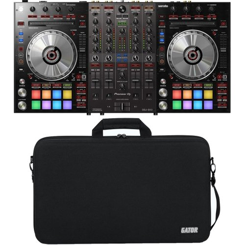 Pioneer DDJ-SX3 with Gator Controller Case at Gear 4 Music Image