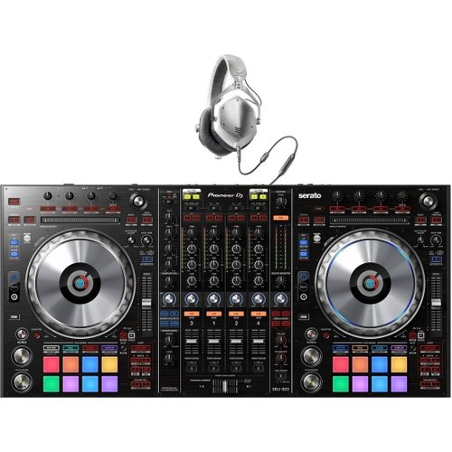 Pioneer DDJ-SZ2 DJ Controller for Serato with V-Moda M-100 Headphones at Gear 4 Music Image