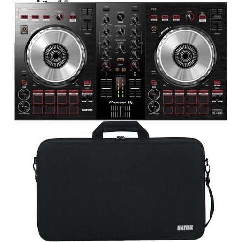 Pioneer DJ DDJ-SB3 with Gator Controller Case at Gear 4 Music Image