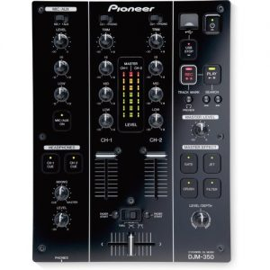 Pioneer DJM-350 2-Channel Mixer at Gear 4 Music Image