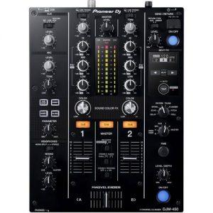 Pioneer DJM-450 DJ Mixer at Gear 4 Music Image