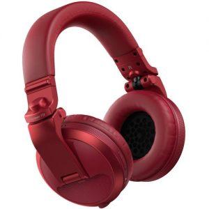 Pioneer HDJ-X5BT Bluetooth DJ Headphones Red at Gear 4 Music Image