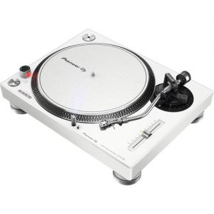 Pioneer PLX-500 Direct Drive Turntable White at Gear 4 Music Image