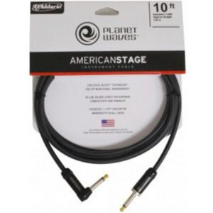 Planet Waves American Stage Instrument Cable R/Angled - Straight 10ft at Gear 4 Music Image
