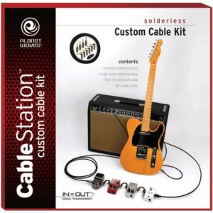 Planet Waves Solderless Custom Cable Kit 50 feet 10 plugs at Gear 4 Music Image