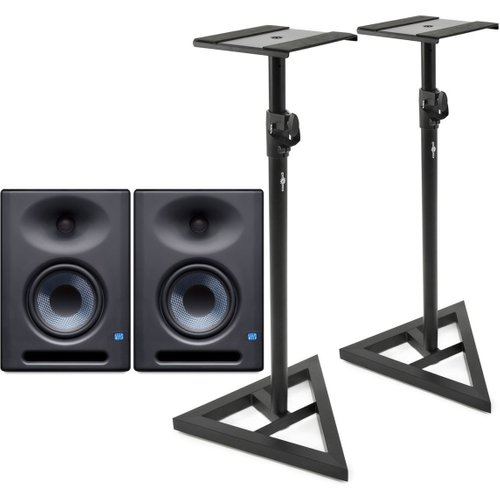 PreSonus Eris E5 XT Pair with Stands at Gear 4 Music Image