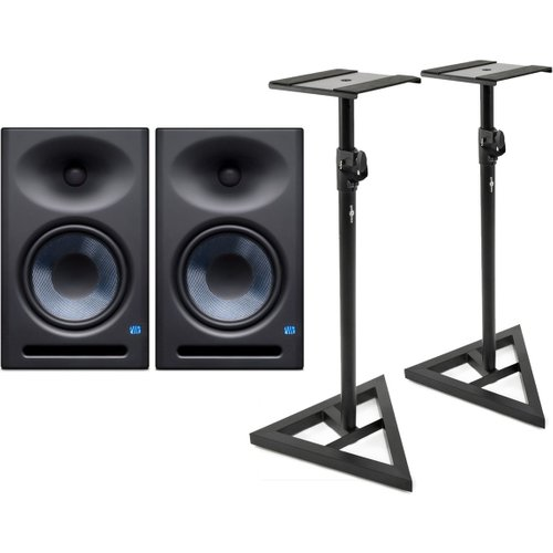 PreSonus Eris E8 XT with Stands at Gear 4 Music Image