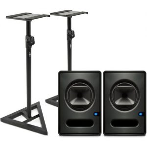 PreSonus Sceptre S6 CoActual Studio Monitors (Pair) with Stands at Gear 4 Music Image