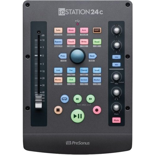 PreSonus ioStation 24c Audio Interface and Production Controller at Gear 4 Music Image