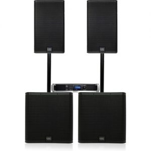 QSC E Series E115 and E118SW Complete PA System at Gear 4 Music Image